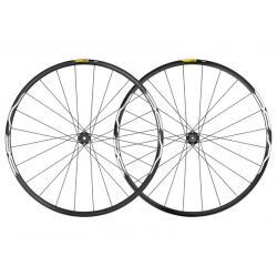 Roues à pneu 27.5p MAVIC vtt XA 27.5 ID360 SH noire décor blanc