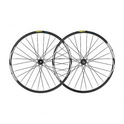 Roues à pneu 27.5p MAVIC vtt vae E-XA 35 27.5 Boost ID360 XD noire décor blanc