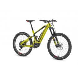 Vélo électrique vtt 27.5p MOUSTACHE 2019 alu Samedi 27 Race 8 AW Boost 500 vert acide décor noir