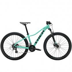 Vélo vtt alu femme 27.5p TREK 2019 Marlin 6 WSD 27.5 vert Miami décor noir