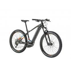 Vélo vtt électrique 27.5p alu LAPIERRE 2019 Overvolt HT 900i Boost 500 noir décor bleu vert orange
