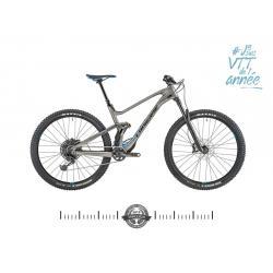 Vélo vtt 29 carbon LAPIERRE 2019 Zesty AM 5.0 Ultimate gis mat décor noir et bleu