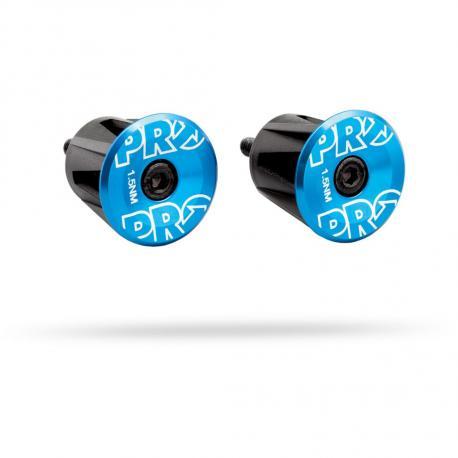 Bouchons de cintre PRO alu EndPlug 0058 anodisé bleu décor argent