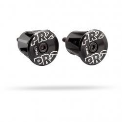 Bouchons de cintre PRO alu EndPlug 0056 anodisé noir décor argent