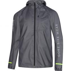 Veste imperméable GORE BIKE Rescue Bike GoreTex Active Shell gris