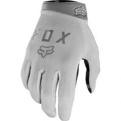 Gants longs FOX vtt Ranger Gel gris clair décor argent