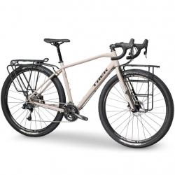 Vélo voyage alu 28p TREK 2020 920 Disc gris sable décor noir