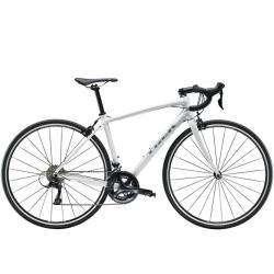 Vélo course alu femme TREK 2020 Domane AL 3 WSD blanc décor argent