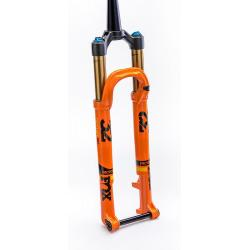 Fourche vtt 29p Fox-Racing-Shox 2018 32 Float SC 29 Factory 100 Boost CTD Kashima Adjust FIT4 Disc orange décor noir et