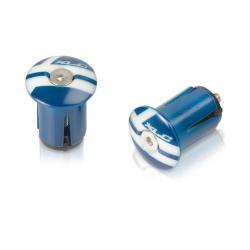 Bouchons de cintre XLC pvc GR X02 bleu blanc