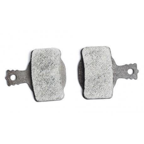 Plaquettes de frein A2Z support acier gris AZ 160ES Sintered