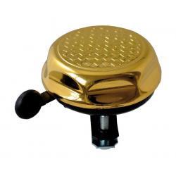 Sonnette REICH métal Martelée dorée diamètre 55mm