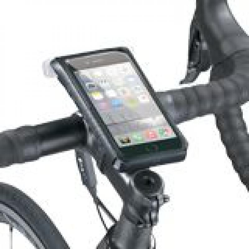 TOPEAK RIDECASE pour iPhone XR avec support Vélo Guidon Housse Portable Protection Roue