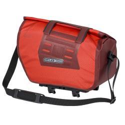 Sacoche ORTLIEB nylon arrière supèrieure Trunk Bag RC étanche rouge décor noir