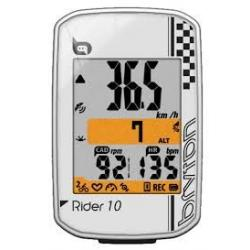 compteur GPS vélo BRYTON Rider 10 - blanc