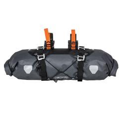 Sacoche de guidon ORTLIEB pvc Handlebar Pack F9921 15L ardoise décor orange