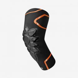 Coudières souples RACER vtt et bmx Smart Skin noir décor orange