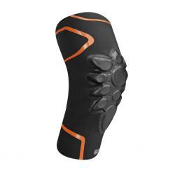 Genouillères souples RACER vtt et bmx Smart Skin noir décor orange