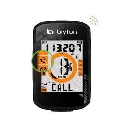 GPS vélo BRYTON compteur Rider 15 noir