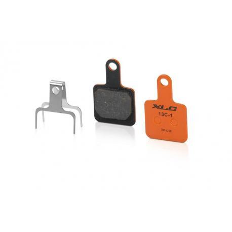 Plaquettes de frein XLC TEKTRO support acier BP-O36 orange