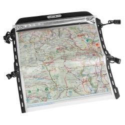 Porte carte ORTLIEB pour sacoche guidon Ultimate 6 transparent