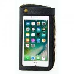 Etui téléphone HAPO-G support SmartPhone Prémium Iphone 6+/7+ étanche tactile noir