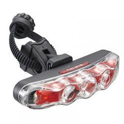 Support éclairage CATEYE arrière pvc FlexTight SP 12 F noir