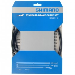 Cables+Gaine SHIMANO frein route vtt acier Standart Brake avant et arrière