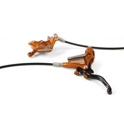 Frein à disque HOPE arrière Tech-3 E4 orange levier noir