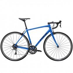 Vélo course alu TREK 2020 Domane AL 2 bleu mat Alpine décor noir