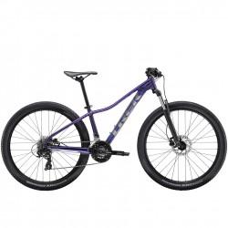 Vélo vtt alu femme 29p TREK 2020 Marlin 5 WSD 29 violet Flip décor argent