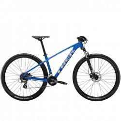Vélo vtt 29 alu TREK 2020 Marlin 6 bleu Alpine décor argent