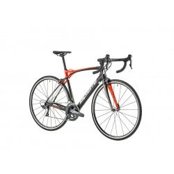 Vélo course carbone LAPIERRE 2019 Xélius SL2 600 noir décor rouge néon et blanc
