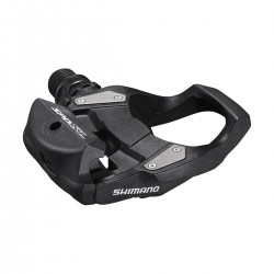 Pédales SHIMANO route RS500 Carbon SPD-SL noir carbon