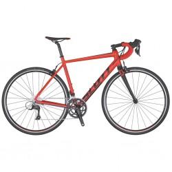Vélo course alu SCOTT 2020 Speedster 30 Compact rouge décor noir