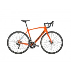 Vélo course carbone LAPIERRE 2019 Sensium 500 Disc CP orange décor noir