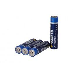 Piles VARTA baton alkaline 1.5v LR-03 Long Life Power