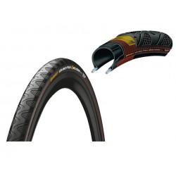 Pneu 700 CONTINENTAL route GrandPrix 4 Saisons 28 noir flancs noirs