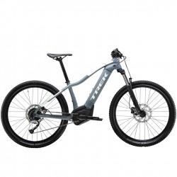 Vélo électrique femme vtt 27.5p TREK 2020 alu PowerFly 4 WSD 500 bleu Battleship décor blanc