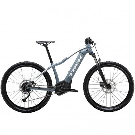 Vélo électrique dame vtt 27.5p TREK 2020 alu PowerFly 4 WSD 500 bleu Battleship décor blanc