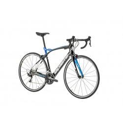 Vélo course carbone LAPIERRE 2019 Pulsium SL 500 CP noir brillant décor bleu et blanc