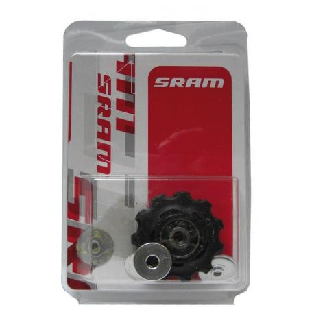 Galets dérailleur SRAM route 11v 11 dts Red Force Rival 22 noirs