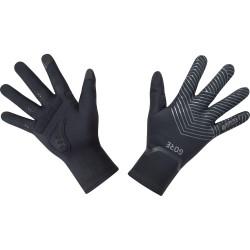 Gants longs GORE C3 Gore-Tex Infinium noir décor gris