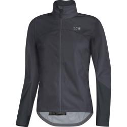 Veste imperméable GORE femme C5 GoreTex Active Shell noir décor gris