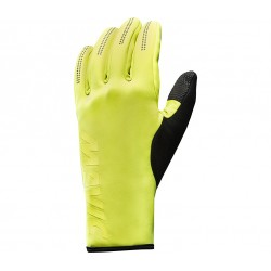 Gants longs MAVIC hiver Essential Thermo Safety jaune fluo