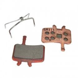 Plaquettes de frein AVID support acier Juicy