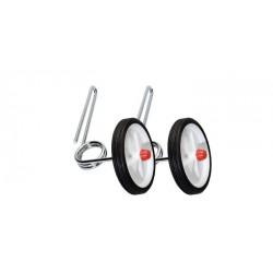 Stabilisateurs CLASSIQUE enfant EZ Trainer 12/20 chromés pour vélo enfants avec roues de 12 à 20 pouces