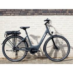 Vélo électrique ville 26p alu - TREK 2021 Verve+ 1 LowStep 400 - Gris Solid Charcoal Décor argent