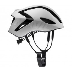 Casque MAVIC route Comete Ultimate Mips blanc décor noir