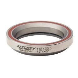 Roulement direction RITCHEY acier intégré Comp D41.8 d30.15 Ep8mm 45x45dg